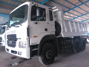 Xe ben 15 tấn Hyundai HD270 ga điện