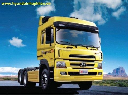 Đầu kéo Hyundai TRAGO