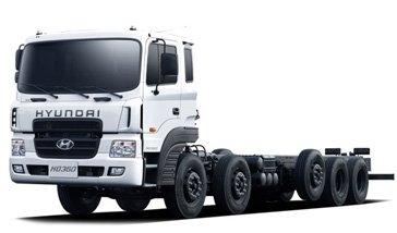 Xe tải Hyundai 25 tấn HD360