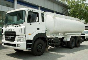 Xe bồn dầu Hyundai HD260