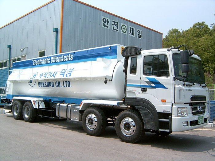 Xe bồn dầu Hyundai HD320