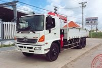 Xe Hino FL gắn cẩu Unic 3 tấn